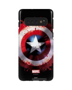 Captain America Shield Galaxy S10 Pro Case