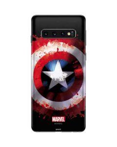 Captain America Shield Galaxy S10 Skin