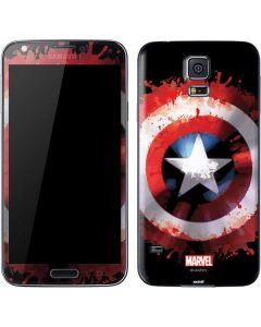 Captain America Shield Galaxy S5 Skin