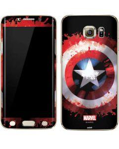 Captain America Shield Galaxy S6 edge+ Skin