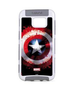 Captain America Shield Galaxy S7 Edge Cargo Case