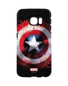 Captain America Shield Galaxy S7 Edge Pro Case