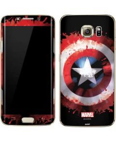 Captain America Shield Galaxy S7 Edge Skin