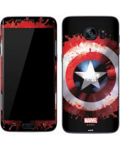 Captain America Shield Galaxy S7 Skin