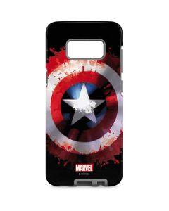Captain America Shield Galaxy S8 Pro Case
