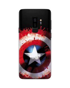 Captain America Shield Galaxy S9 Plus Skin