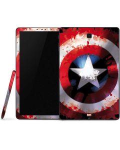Captain America Shield Samsung Galaxy Tab Skin