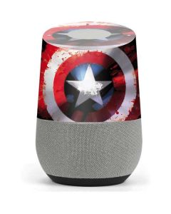 Captain America Shield Google Home Skin
