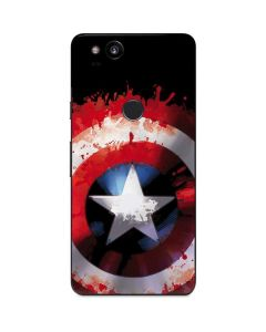 Captain America Shield Google Pixel 2 Skin
