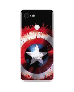 Captain America Shield Google Pixel 3 Skin