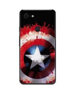 Captain America Shield Google Pixel 3 XL Skin