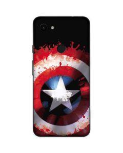Captain America Shield Google Pixel 3a Skin