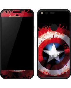 Captain America Shield Google Pixel XL Skin