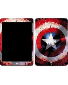 Captain America Shield Apple iPad Skin