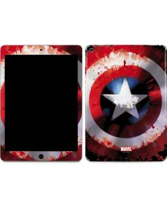 Captain America Shield Apple iPad Air Skin