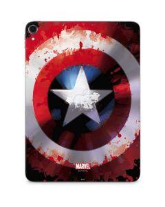 Captain America Shield Apple iPad Pro Skin