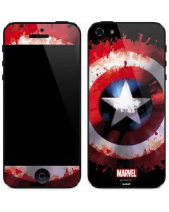 Captain America Shield iPhone 5/5s/SE Skin