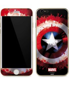 Captain America Shield iPhone 6/6s Skin