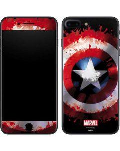 Captain America Shield iPhone 7 Plus Skin