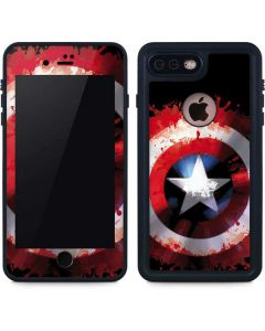 Captain America Shield iPhone 8 Plus Waterproof Case