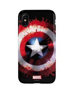 Captain America Shield iPhone X Pro Case
