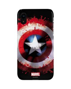 Captain America Shield iPhone XR Lite Case