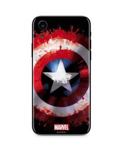 Captain America Shield iPhone XR Skin
