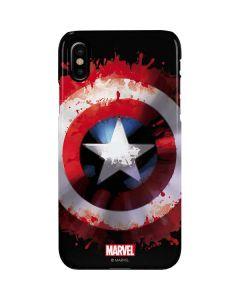 Captain America Shield iPhone XS Lite Case