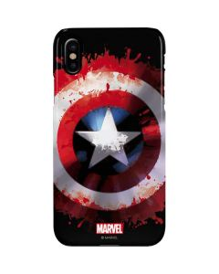 Captain America Shield iPhone XS Max Lite Case
