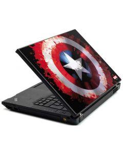 Captain America Shield Lenovo T420 Skin