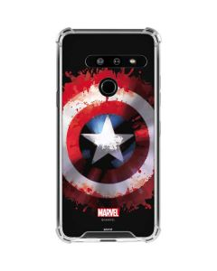 Captain America Shield LG G8 ThinQ Clear Case