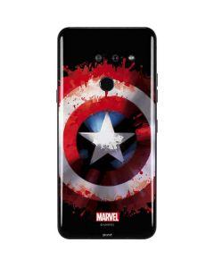 Captain America Shield LG G8 ThinQ Skin