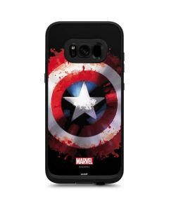 Captain America Shield LifeProof Fre Galaxy Skin