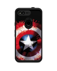 Captain America Shield LifeProof Fre Google Skin