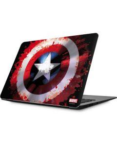 Captain America Shield Apple MacBook Skin