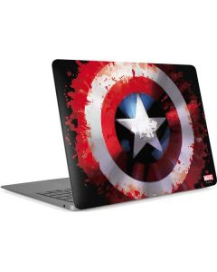 Captain America Shield Apple MacBook Air Skin