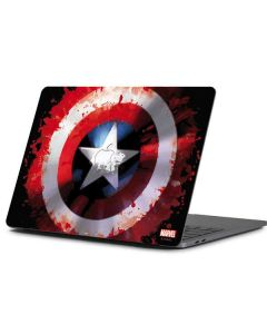 Captain America Shield Apple MacBook Pro 13-inch Skin