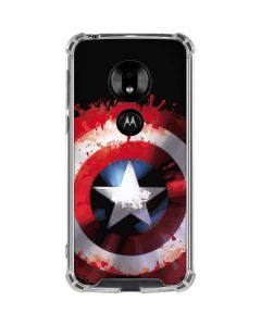 Captain America Shield Moto G7 Play Clear Case