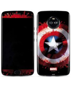 Captain America Shield Moto X4 Skin