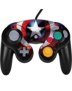 Captain America Shield Nintendo GameCube Controller Skin