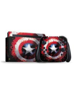 Captain America Shield Nintendo Switch Bundle Skin