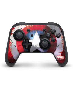 Captain America Shield Nintendo Switch Pro Controller Skin