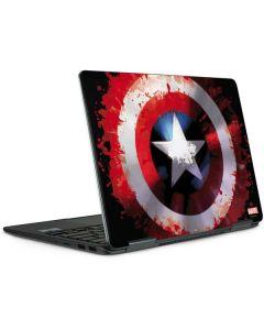 Captain America Shield Notebook 9 Pro 13in (2017) Skin
