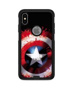 Captain America Shield Otterbox Commuter iPhone Skin