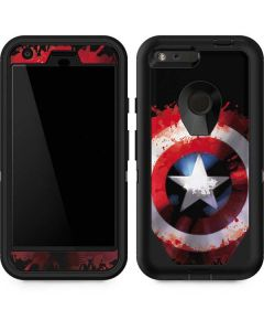 Captain America Shield Otterbox Defender Pixel Skin