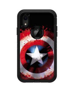 Captain America Shield Otterbox Defender iPhone Skin
