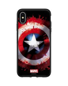 Captain America Shield Otterbox Symmetry iPhone Skin