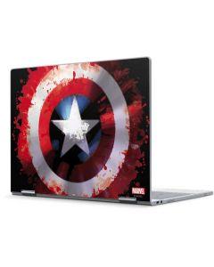 Captain America Shield Pixelbook Skin
