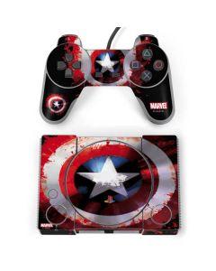 Captain America Shield PlayStation Classic Bundle Skin