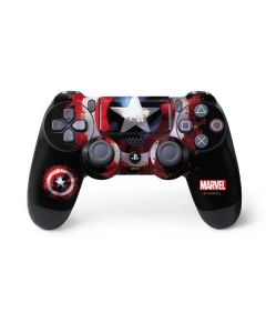 Captain America Shield PS4 Controller Skin